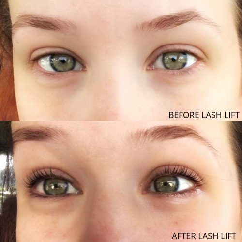 Shanyn Lash Lift Before & After